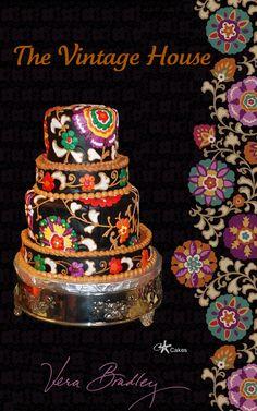 Vera Bradley Cake #VeraBradley #Cake