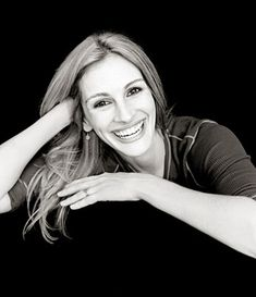Amazing Black and White - Julia Roberts