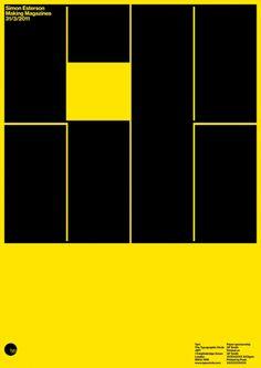 Simon Esterson: Typo Circle Poster