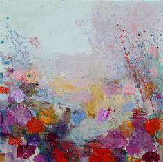ARTFINDER: Sunny Rainy April by Sandy Dooley - Impressionistic landscape painting