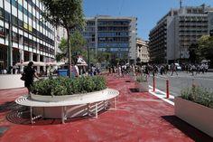 Ο Μεγάλος Περίπατος της Αθήνας: Άλλαξε όψη το Σύνταγμα (εικόνες) Street View, Colors, Colour, Color, Paint Colors, Hue