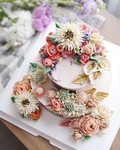 2단 케이크 좋은날 제이케이크를 찾아주셔서 감사합니다❤ #2단케이크#칠순케이크