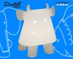 Geweldig gaaf deze Zzzoolight Koe lamp, en niet alleen voor in de babykamer of kinderkamer!