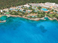 Elounda Peninsula All Suite Hotel, Elounda hotels & resorts, luxury accommodation Hotels And Resorts, Best Hotels, Chateau Hotel, Half Board, Places In Greece, Crete Island, Fine Hotels, Crete Greece, Beautiful Villas