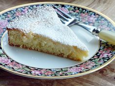Thibeault's Table: Lemony Butter Cake with Cream Cheese Filling