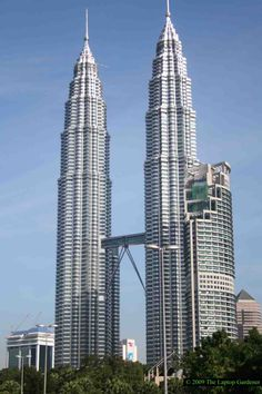 PetronasTowers, Kuala Lumpur , Malaysia. Zeke worked in those towers for a couple of years. Very fortunate to have visited. Beautiful City.