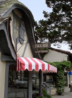 Carmel..English tea rooms and little shops  the cutest!