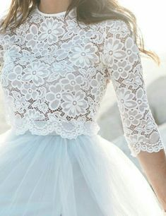 Camilla Lace Sleeve Top, Tops - Bliss Tulle Source by lace top Modest Dresses, Elegant Dresses, Cute Dresses, Beautiful Dresses, Flower Girl Dresses, Modest Homecoming Dresses, Blue Wedding Dresses, Bridesmaid Dresses, Camilla