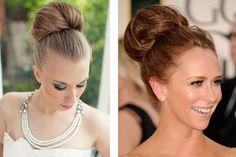 Peinado de novia en chongo alto #bodas #elblogdemaríajosé #peinadonovia #chongoalto