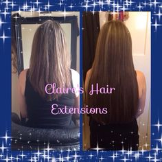 Before and After pics of 20 inch Prestige #Russian Standard #Hair Extensions #microring fitted by @claireshairextensions in #ripley #derbyshire #hairextensions mix of shades 3a and 5a bought from http://evpo.st/1lKbe3p