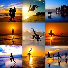 e assim foi mais um domingo de sol daqueles no Rio.