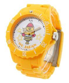 wc / character toy watch wc / Kumatan (Double Sea Japan) (watch) | yellow