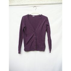 Purple Button Up Cardigan Very gorgeous true purple color cardigan, can be unbuttoned. Slight piling, very cozy and soft. Easily could fit a small to large. Full Tilt Jackets & Coats