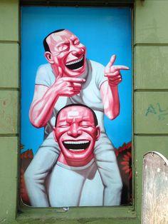 City: Montevideo, Uruguay / Artist: Yue Minjun