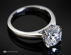 Full of diamond surprises, engagement ring - this is similar to the Vatche Caroline