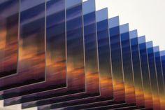 Nobuhiro Nakanishi, Light of Sunrise 4, mixed media sculpture, 30 x30 x200cm, 2012