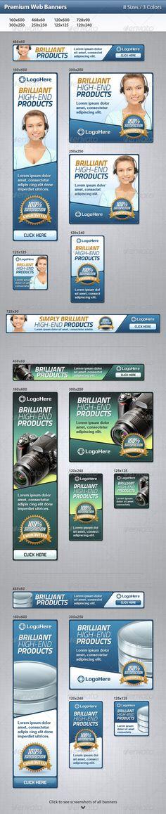 Premium Web Banners