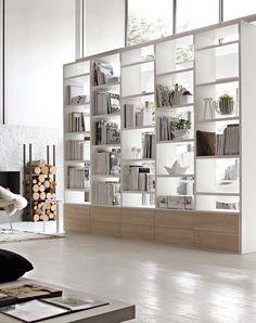 Bookshelve/Bibliothèque SLIM By MARONESE ACF