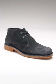 Hush Puppies Norco Shoe Black Suede