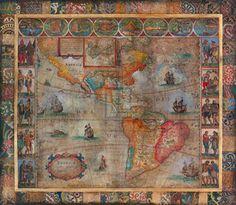 "Old World II Art Print $85.99 - 46"" x 40"""