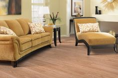 South Beach Laminate, Natural Red Oak Laminate Flooring   #MohawkFlooring #laminate