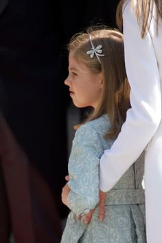 Infanta Sofia of Spain attends a Military Parade at the Congress for the crowing, 19.06.2014 ahead of a joint session of parliament.
