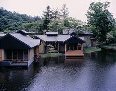 Azuma Architect & Associates, studio on site, Mitsumasa Fujitsuka, Yoshida Photo Studio · Hoshinoya Karuizawa