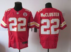 Red McCluster Chiefs 2012 Elite #22 Jersey    ID:44959796  $23