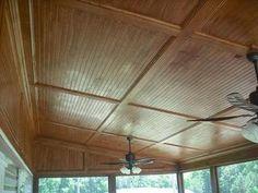 Porch Ceiling Trim