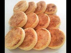 Reteta Harcha - Semolina Bread - الحرشة بالحليب - YouTube