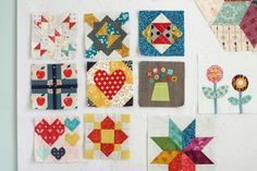 National Quilting Month - Free Quilt Blocks - Diary of a Quilter - a quilt blog