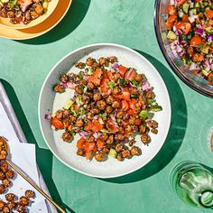 Mediterranean-Inspired Salad with Roasted Chickpeas - Misfits Market - Blog