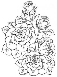 new ideas for flower drawing tattoo coloring books - ~ flowers ~ - . - new ideas for flower drawing tattoo coloring books – ~ flowers ~ – # - Flower Coloring Sheets, Printable Flower Coloring Pages, Rose Coloring Pages, Tattoo Coloring Book, Printable Adult Coloring Pages, Coloring Books, Mandala Coloring, Free Coloring, Book Flowers
