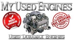 My Used Engines carries a full line of used engines to fit Chevy/GMC turbo diesel trucks with Duramax diesel engines for the 6.5L & 6.6L Duramax engine for GM turbo-diesel trucks. Simply select the used diesel engine for your Chevy/GMC Duramax equipped vehicle to get the current sales price. Most used Duramax diesel engines are in stock and available for immediate shipping. Please visit http://myusedengines.com/used-diesel-engines/chevygmc-duramax.html for more info.