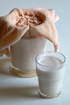 ¿Por qué tomar leche vegetal y no leche de vaca pasteurizada? Algunas recetas de leches vegetales.