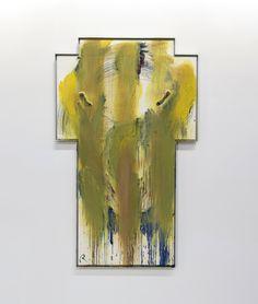 Arnulf Rainer, Helles Morgenkreuz (Bright Morning Cross), 1987. Arnulf Rainer, Abstract, Artist, Painting, Austria, Bright, Google Search, Crosses, Summary