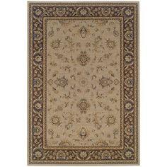 Oriental Weavers Ariana 2153D Blue/Brown Floral Area Rug