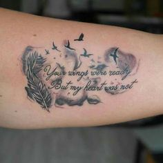 10 Memorial Tattoos For Dad That Are Truly Incredible And Inspiring – TattoosD. - 10 Memorial Tattoos For Dad That Are Truly Incredible And Inspiring – TattoosDesignIdea - Daddy Tattoos, Tattoo Shirts, Family Tattoos, Cute Tattoos, Body Art Tattoos, Small Tattoos, Sleeve Tattoos, Tatoos, Rip Tattoos For Mom
