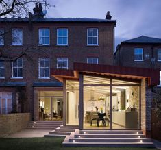 forrester architects remodels & expands residence in north london