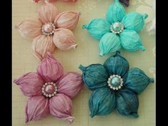 DIY:Easy to make Balloon flower tutorial by SaCrafters