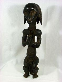Fine African Tribal Art FANG BIERI Guardian Reliquary Figure