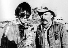 Awesome people hanging out together: Neil Young and Dennis Hopper Neil Young, Mick Jagger, Jennifer Aniston, David Bowie, Dennis Lee, Dennis Hopper, Easy Rider, Forever Young, Beautiful Celebrities