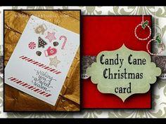 Episode 63: Candy Cane Christmas card
