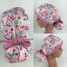 Christmas Candy Ponytail Hat – Oksana's Creations