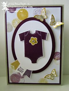 stampin up, something for baby, alles für's baby, banner banter, sag's mit fähnchen, papillon potpourri, mondschein, moonlight, schmetterling, butterfly, geburt