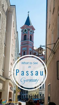 Water has quite literally shaped the picturesque town of Passau, Germany, Click to discover what you can see and do in this unique river cruise stop.