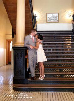 Orange County, CA Courthouse Wedding!  Beautiful!