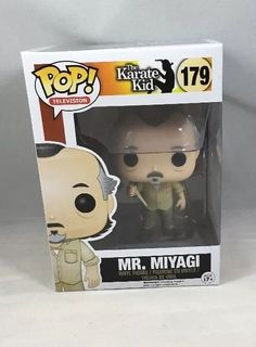 The Karate Kid: Mr. Miyagi Funko Pop