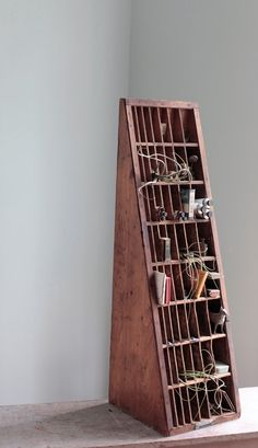 Quirky storage/display unit.
