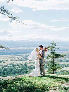 Cherokee Ranch Wedding | Colorado Castle | Autumn Cutaia Photography | 2nd shot for Tess Polivka